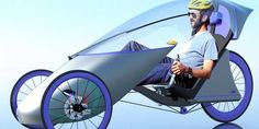Concept designs, a trike with a roof and even a flying bike. The future is here. Reverse Trike, Velo Design, Bicycle Design, Tricycle, Velo Cargo, Off Grid, Electric Trike, Recumbent Bicycle, Trike Bicycle