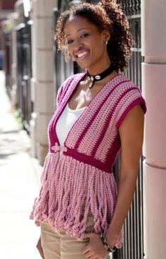 Neat Crochet Cardigan Pattern: Double Stitch Twins....LOVE this!~`~