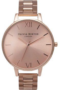 Olivia Burton Big Dial Bracelet OB13BL07B Ladies Watch | The Watch Hut«