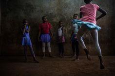 Fredrik Lerneryd spent the last year and a half photographing ballet dancers in the Kibera neighborhood of Nairobi.