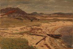 Amaldus Nielsen - From Risøbank Mandal 1889.