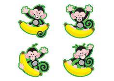 Monkeys-Bananas/Mini Variety Pk Mini Accents by Trend Enterprises Inc. $4.29