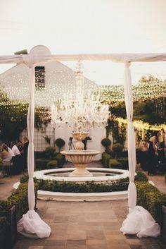 Super Luxe Outdoor Wedding in South Africa Sparkler Candles, Sparklers, Perfect Wedding, Dream Wedding, Sweet Corner, Luxury Wedding Venues, Elegant Chic, Fairy Lights, Wedding Bells
