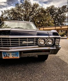 This Darling Old Girl Chevrolet Impala 1967, John Winchester, Street Racing, Sports Sedan, Hot Cars, Hot Wheels, Dream Cars, Supernatural, Photo Wall