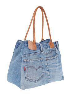 Image result for tasche aus jeansstoff