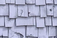 wood roof shingles - make with boxboard