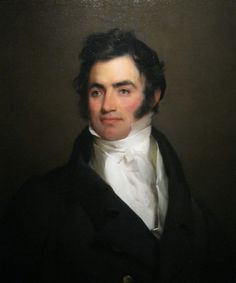 Portrait of Benjamin Tevis (1789-1846), by Thomas Sully, 1822. Winterthur Museum.