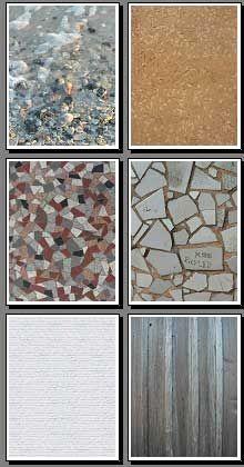 Mosaic, tile, brick, stone,gravel, beach sand backgrounds to print