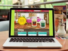 E-commerce da loja de cosméticos Marron Café.