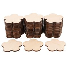 RDEXP Blank Plum Flower Shape Wooden Pieces Unpainted Wood Sheets for Wood DIY Craft Carving Wood Decoration Set of 50 *** Remain to the item at the picture web link. (This is an affiliate link). Plum Flowers, Carving Wood, Unfinished Wood, Flower Shape, Place Card Holders, Diy Crafts, Shapes, Decoration, Link