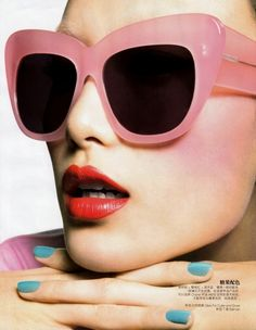 pink sunglases