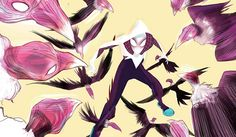 Title: Spider-Gwen #1 Writer: Jason Latour Artist: Robbi Rodriguez The Buzz: Spider-Gwen is all about buzz. She was created as an alt-universe version of much-killed-off Spiderman love interest Gwe...