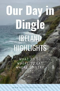 The Dingle Peninsula is located on the southwest coast of Ireland and a must-see on any tour of Ireland. Europe Destinations, Europe Travel Tips, European Travel, Travel Guides, Travel List, Travel Deals, Ireland Vacation, Ireland Travel, Cork Ireland