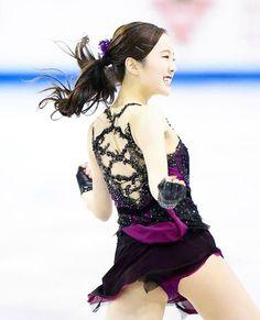 Beautiful Japanese Girl, Simply Beautiful, Sport Gymnastics, Figure Skating, Bellisima, Skate, Athlete, Wonder Woman, Pure Products