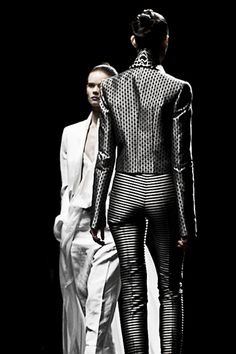 HAIDER ACKERMANN SPRING SUMMER 2013 SHOW DURING PARIS FASHION WEEK PHOTOGRAPHED BY MATTEO CARCELLI, SOME/THINGS AGENCY