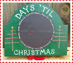 COUNTING THE DAYS - pinned by pin4etsy.com