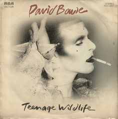 "David Bowie ""Teenage Wildlife"" 7-inch single (front)"