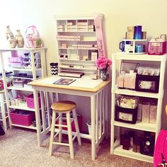 My Mary Kay inventory organization/storage, I carry almost a full store and here is how I have it set up.