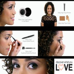 I personally love this new Gel eyeliner! It goes on smooth, precise and stays all day. Order yours today!  #marykay #cosmetics