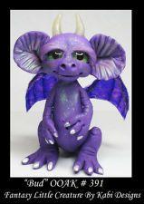 Polymer Clay Art Doll Dragon Fantasy Miniature DollHouse CDHM OOAK IADR