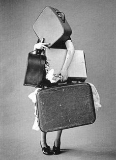 Mujeres saliendo de #viaje de fin de semana ;)