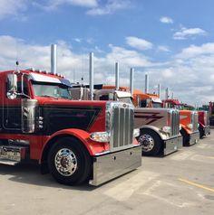 Peterbilt Motors Co. Semi Trucks, Big Trucks, Chevy Motors, Peterbilt Trucks, Sale Promotion, Buses, Trailers, America, Twitter