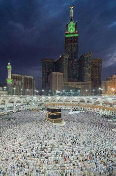 """A place which is """"house of Allah (SWT)"""". Beautiful overview of Kaaba. May Allah invite us on sacred journey. Mecca Masjid, Masjid Al Haram, Mecca Wallpaper, Islamic Wallpaper, Islam Religion, Islam Muslim, Islam Beliefs, Islamic Images, Islamic Pictures"""