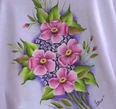 Pintura em Tecido Passo a Passo: Pintura em tecido camiseta