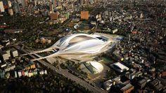 Zaha Hadid Architects to Design Kasumigaoka National Stadium Tokyo