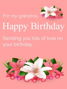 20 Best Birthday Cards For Grandma Images Anniversary Cards