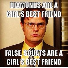 Diamonds are a girls best friend, FALSE