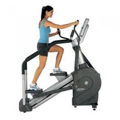 Life Fitness 95Li Summit Trainer  The Life Fitness 95Li Summit Trainer combines the best of total-body cross-training and climbing into one intuitive product that will challenge every exerciser. User-defined stride lengths and five training positions allow users to control workout intensity and target different muscle groups. Summit Trainers feature LIFT technology, an integrated LCD screen, Lifepulse™ heart rate monitoring, and a variety of motivating workouts.