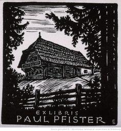 Ex-libris Paul Pfister