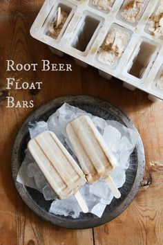 Root Bear Float Bars #recipes