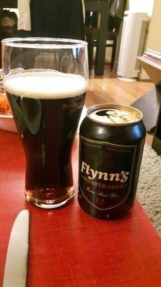 Flynn's  Extra Stout, Refrescante, bouquet amargo, final dulce, aroma tradicional stout