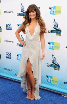 Lea Michele fue una de las estrellas de los 'Do Something Awards 2012'... ¡Pero no la única!