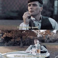 """I'm really in LOVE with peaky fucking blinders 🖤♥️🖤 Peaky Blinders Series, Peaky Blinders Quotes, Peaky Blinders Thomas, Cillian Murphy Peaky Blinders, Best Movie Quotes, Tv Show Quotes, Film Quotes, Estilo Gangster, Peaky Blinders Wallpaper"
