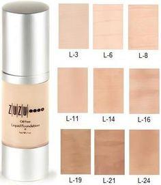 Zuzu Luxe - Zuzu Luxe Liquid Foundations