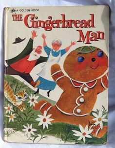 "A Golden Book 12 5""x9 5"" The Gingerbread Man First Printing 1972 Rutherford 
