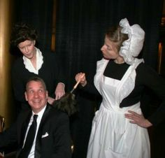 Why not have Downton Abbey servants adding fun to your next event?