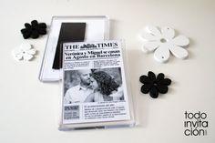 IMAN NEWSPAPER BODA | Todoinvitacion, invitaciones originalesde todoinvitacion.com