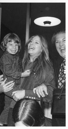 Barbra Striesand and her son Jason