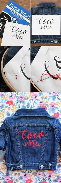 all you need to know about denim embroidery