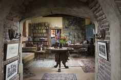 Vita Sackville-West's Writing Tower This writing room is located in the Elizabethan Tower at Sissinghurst Castle in Kent. It's surrounded by the world-famous, romantic garden and was where Vita Sackville-West (close friend of Virginia Woolf) did most of her writing. IMAGE: National Trust John Hammond