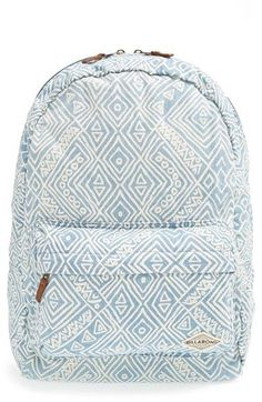 Billabong Hand Over Love Backpack available at Nordstrom Billabong Backpack, Cute Backpacks For School, Cool Backpacks, College Backpacks, Backpacking For Beginners, Backpack Purse, Mini Backpack, Beach Backpack, Bags