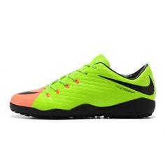 Billig Nike Hypervenom Phelon III TF Herr Dam Gron Orange Fotbollsskor - Billiga Nike Hypervenom Rea