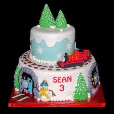Thomas Winter Cake Cakes For Boys
