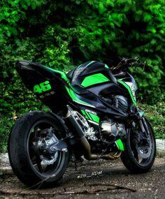 2012 Kawasaki Z 800 46 black