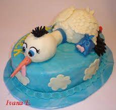 Výsledek obrázku pro miminko v perince dort