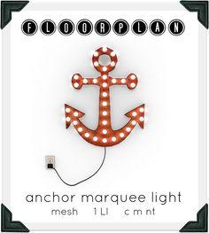 floorplan. anchor marquee light by floorplan., via Flickr